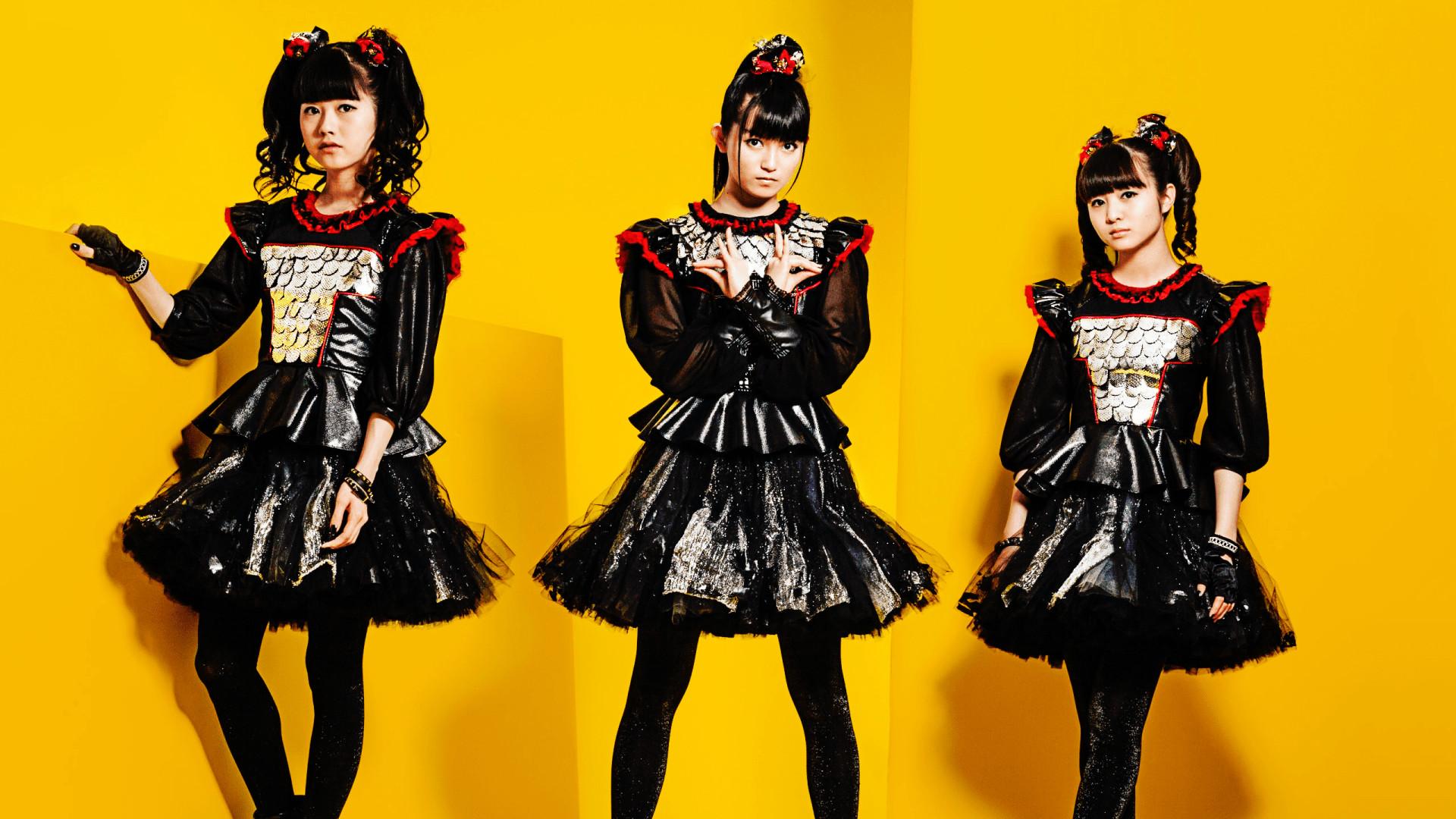 Yui Mizuno Suzuka Nakamoto Moa Kikuchi J-Pop Babymetal 1080p HD Wallpaper  Background