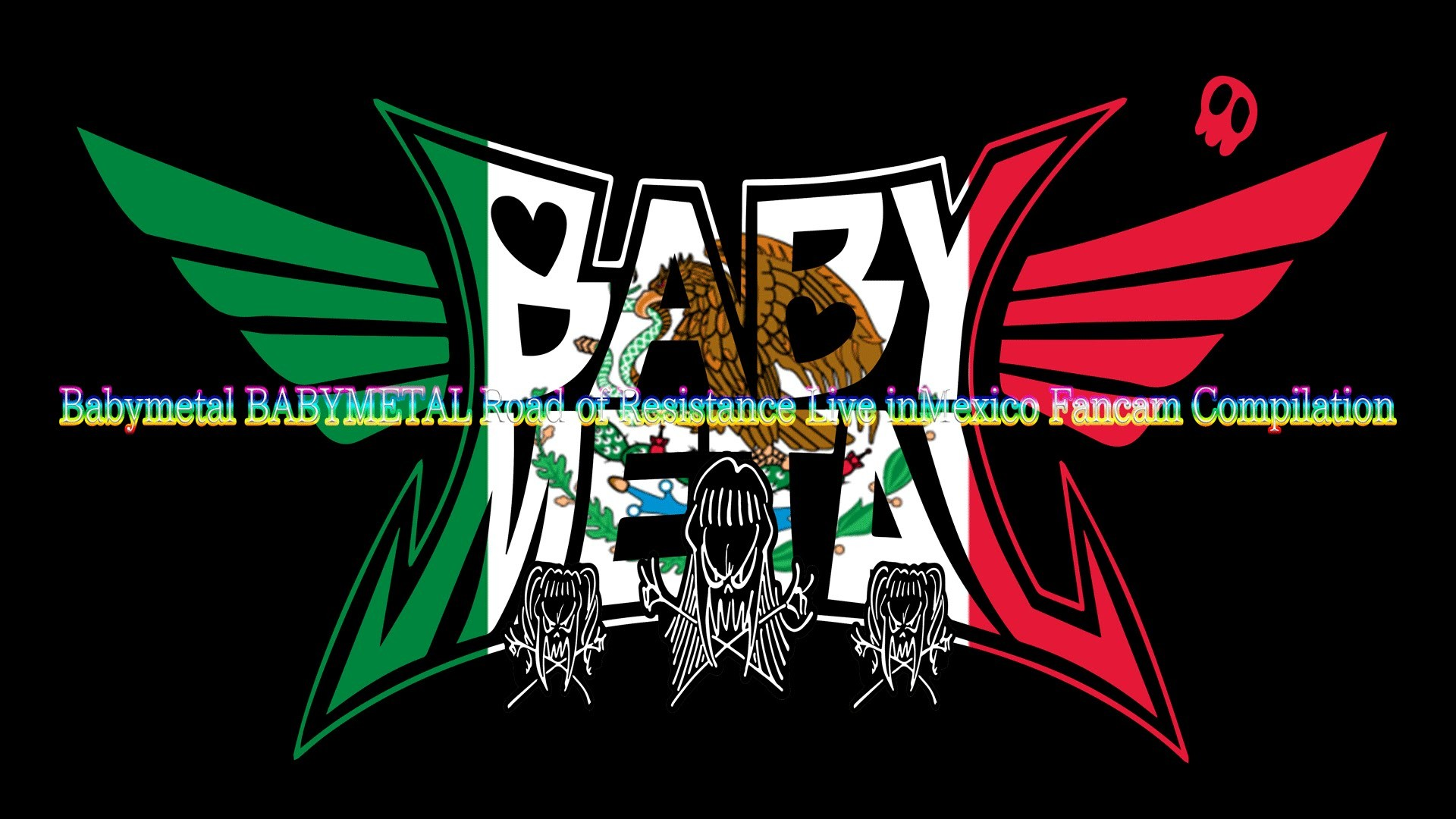 Babymetal BABYMETAL Road of Resistance Live inMexico Fancam Compilation