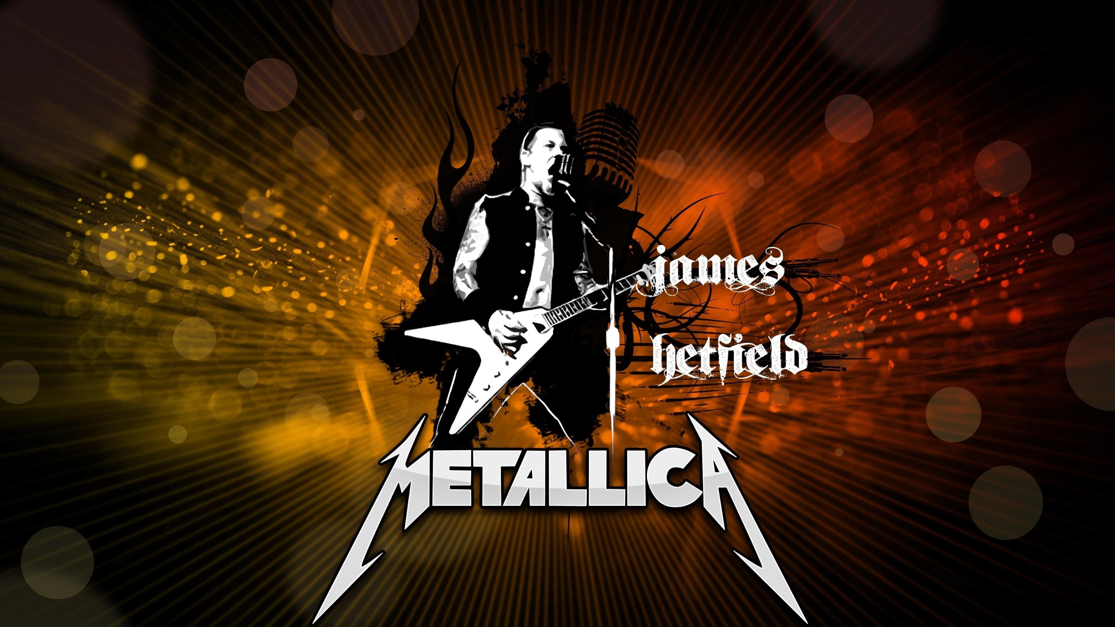 Wallpaper metallica, graphics, soloist, guitarist, name