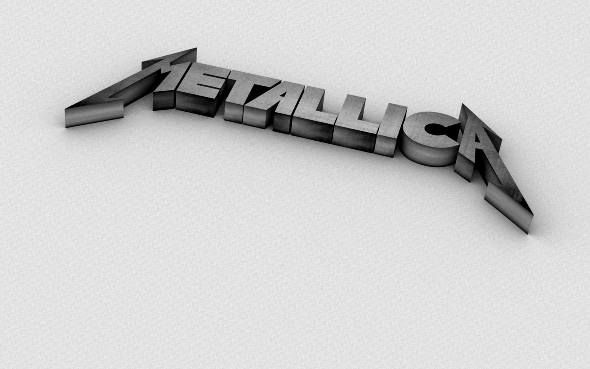 3D Metallica Logo