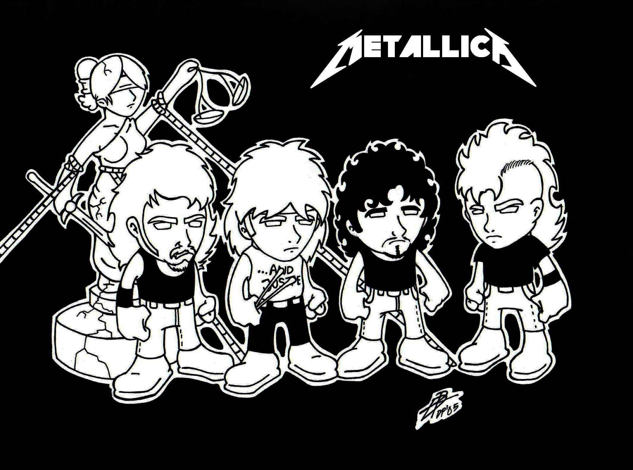 Metallica And Justice For All Wallpaper Hd