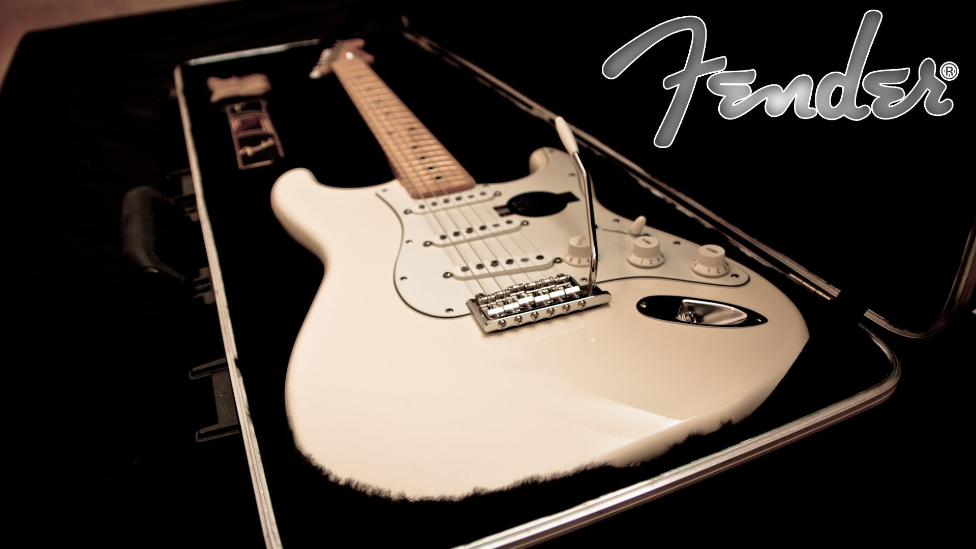 Fender American Stratocaster Unboxing ( Olympic white ) 1080p HD – YouTube