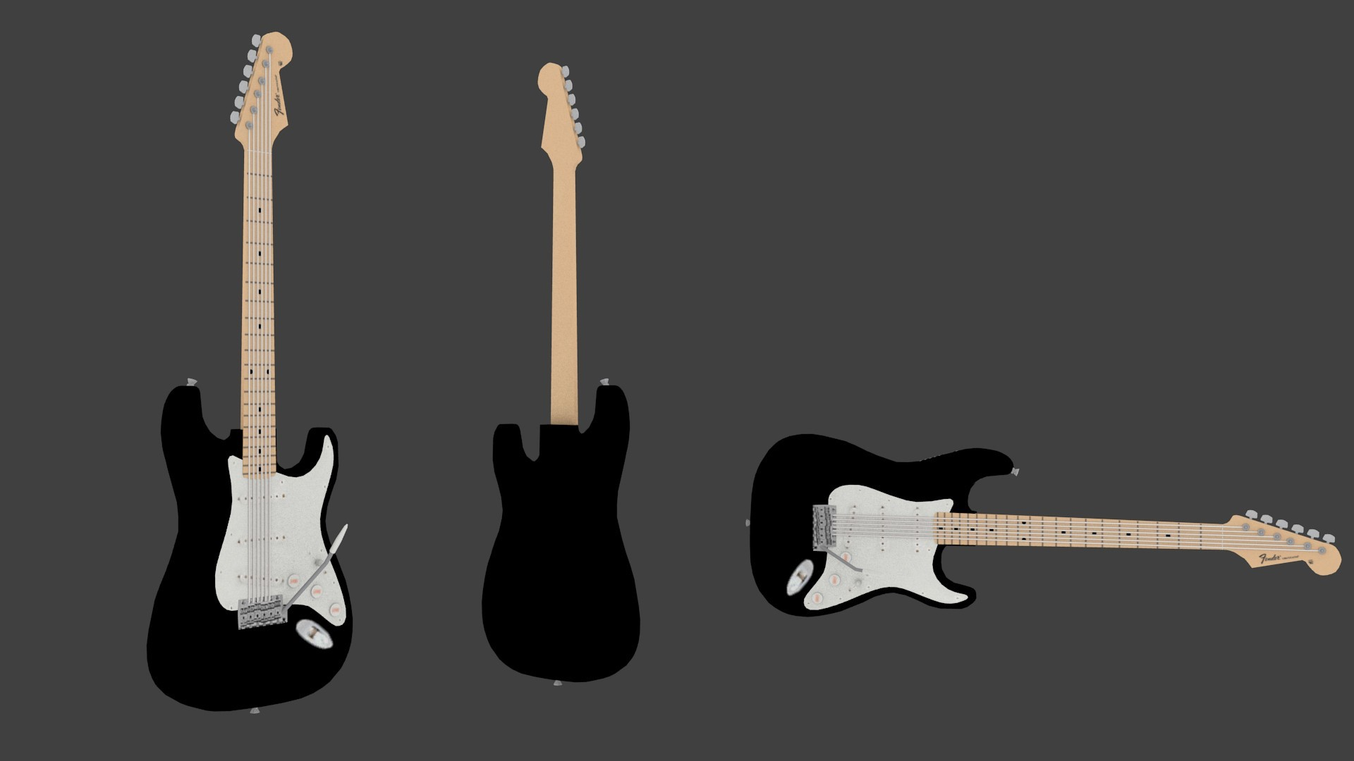 Fender Stratocaster with Sounds!