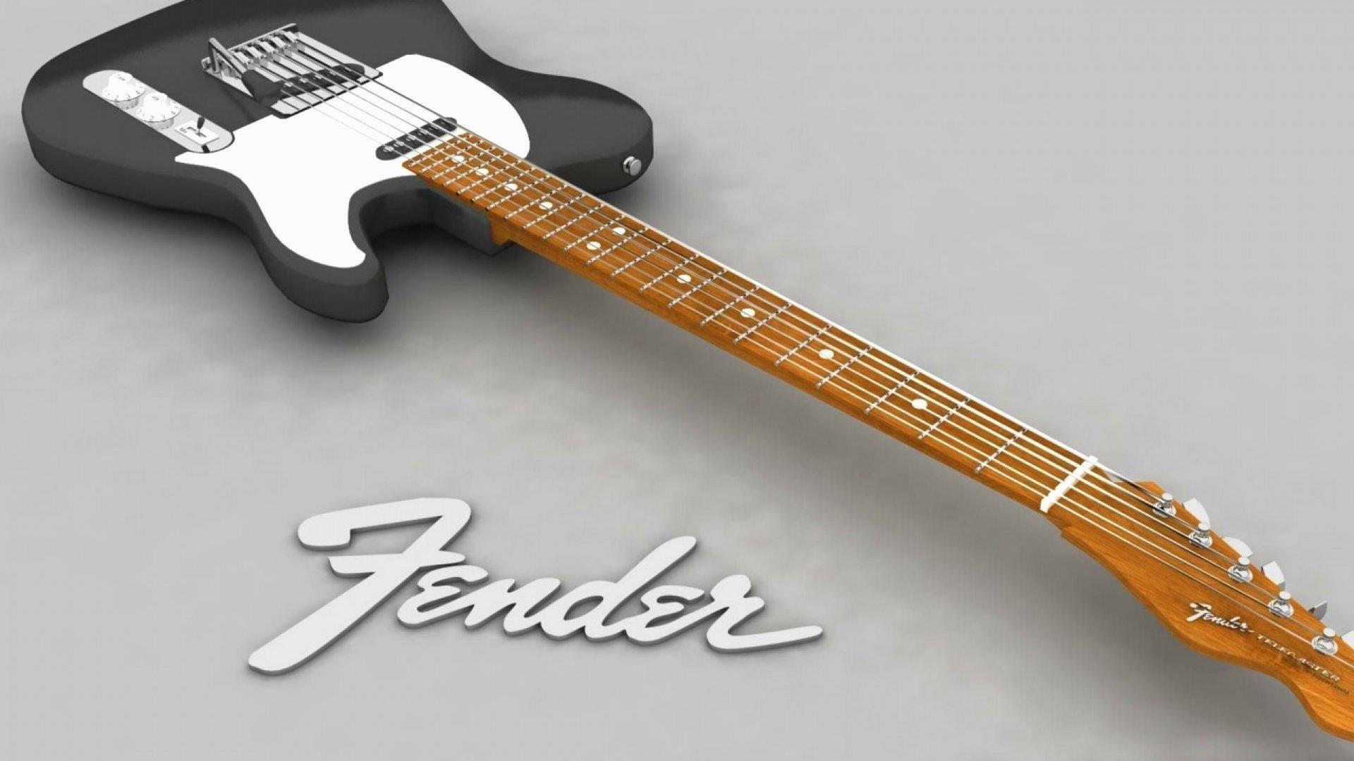 wallpaper.wiki-Guitar-wallpaper-electric-black-fender-music-