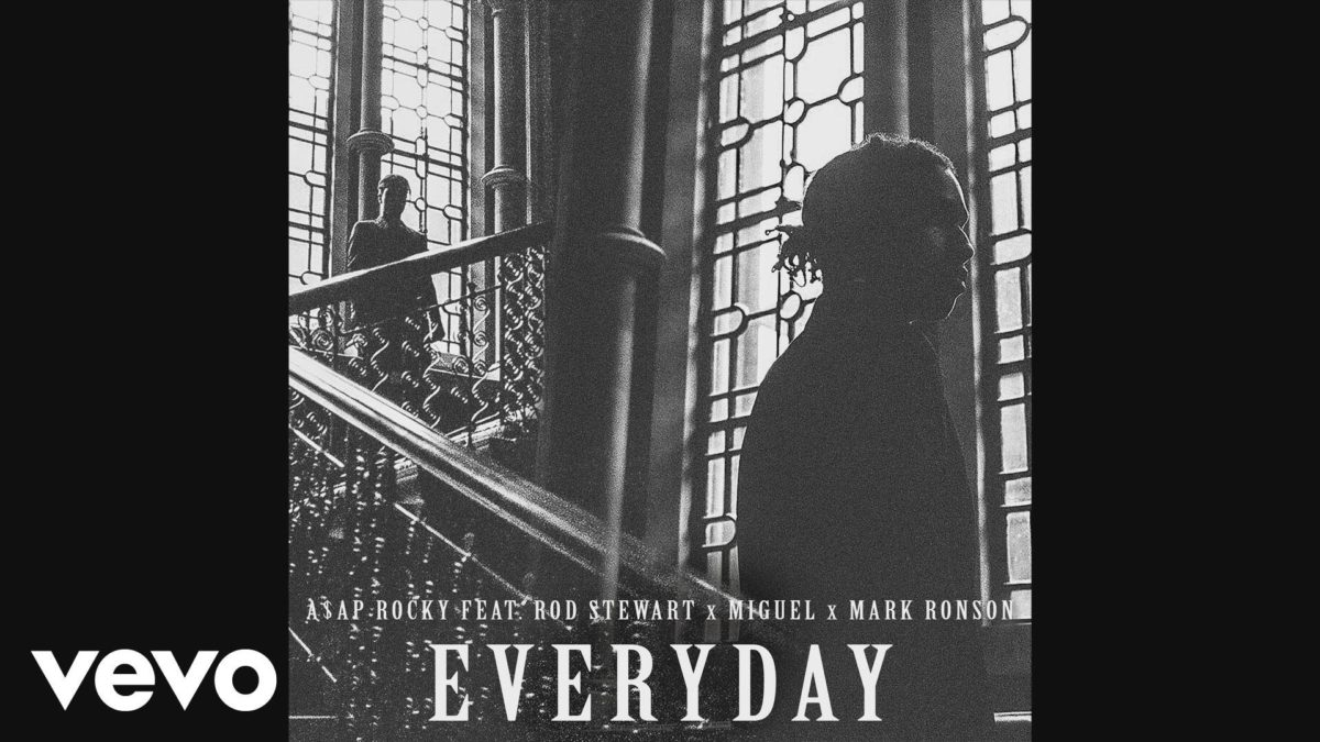 A$AP Rocky – Everyday (Audio) ft. Rod Stewart, Miguel, Mark Ronson