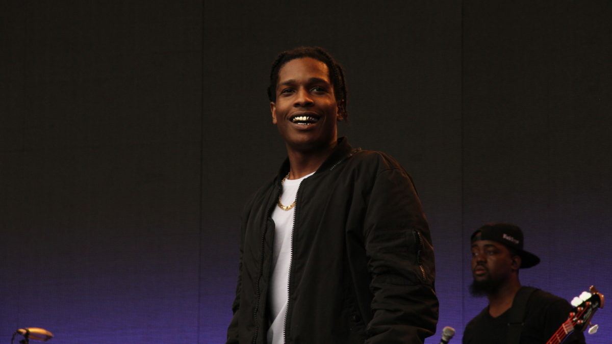 Asap Rocky, Rapper, Singer, Rakim Mayers, Rap, Hip Hop, Gold