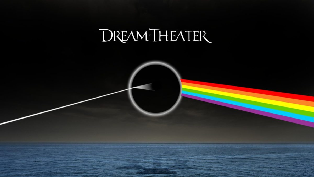 I have created a wallpaper with a Pink Floyd / Dream Theater crossover.  Tell me what you think.