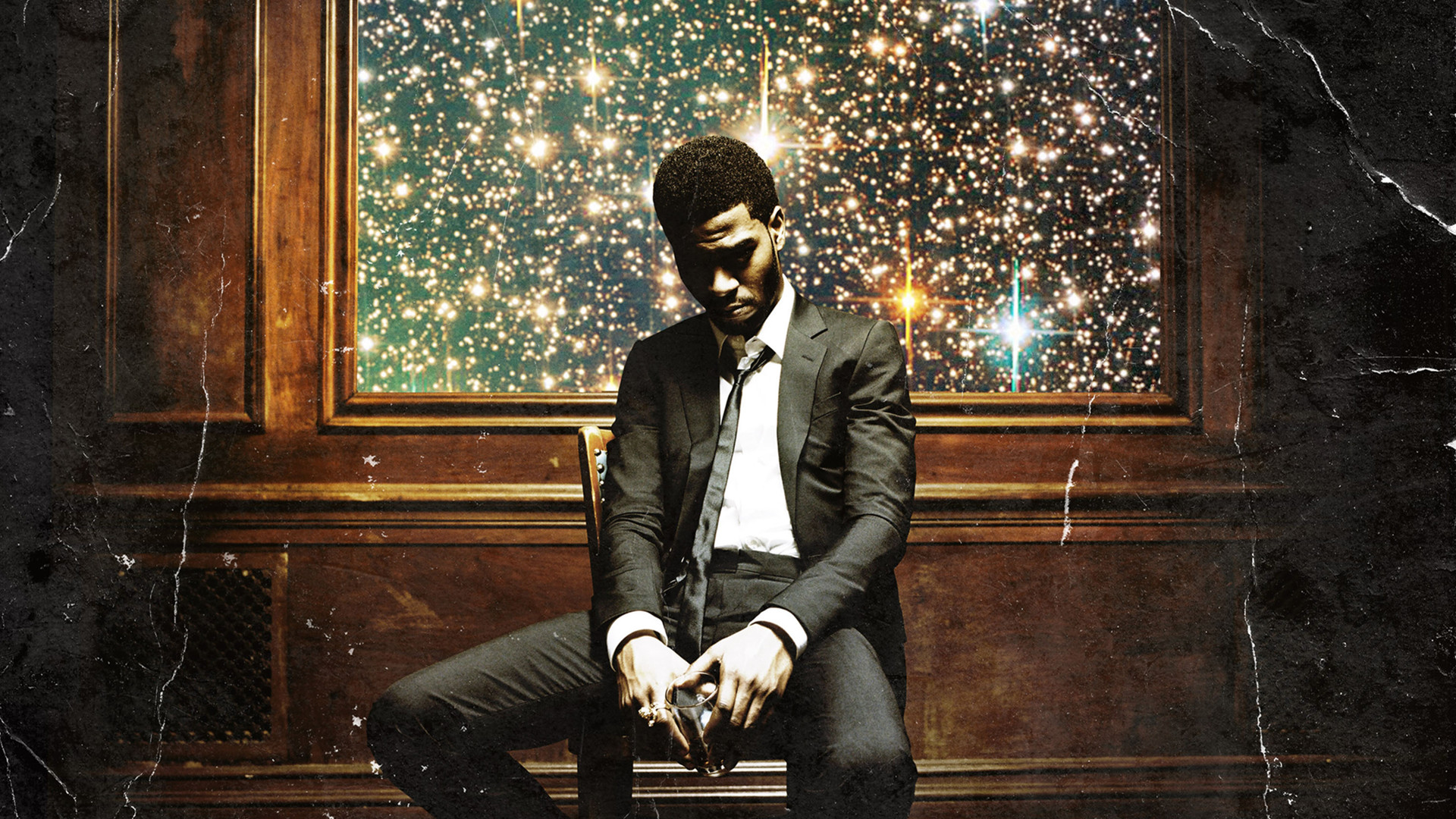 Kid Cudi's Man on the Moon II: The Legend of Mr. Rager HQ version,  3000×3000 in comments [1920×1080] …