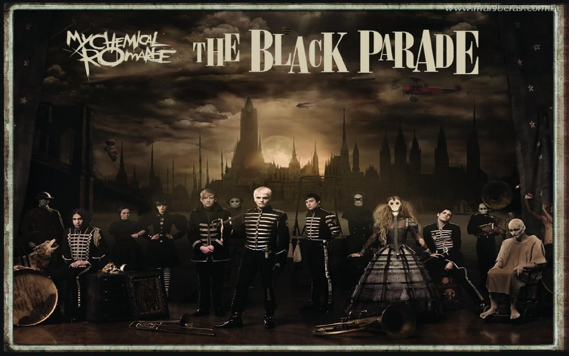 The Black Parade – My Chemical Romance Wallpaper (38539768) – Fanpop