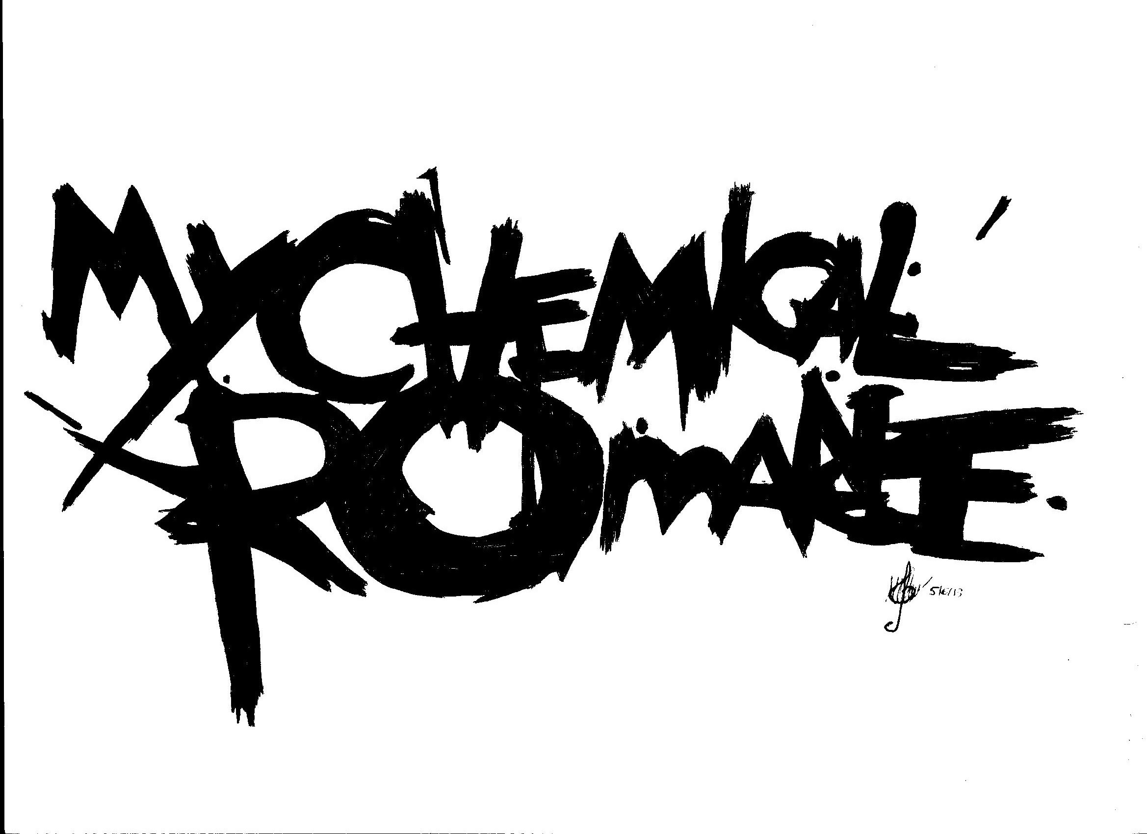 My Chemical Romance Logo by selvaya-guetta on DeviantArt