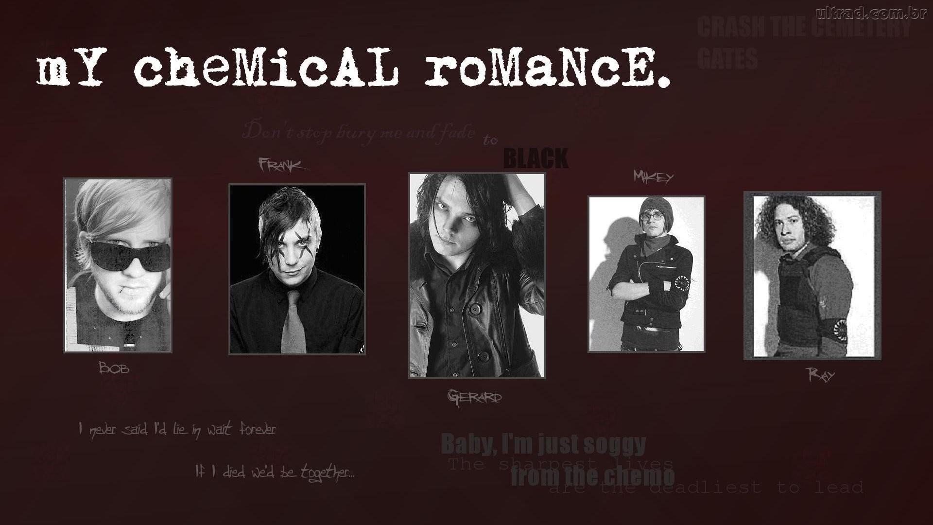 My Chemical Romance 1366X768 …