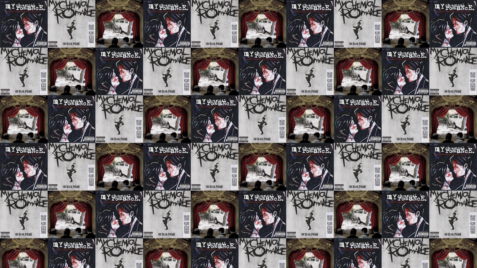 My Chemical Romance Three Cheers For Sweet Revenge Wallpaper Â« Tiled  Desktop Wallpaper
