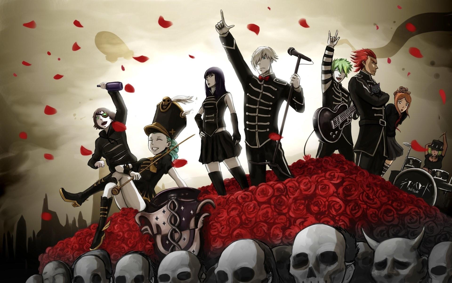 Anime – Crossover Death Parade Chiyuki (Death Parade) My Chemical Romance  Decim (Death