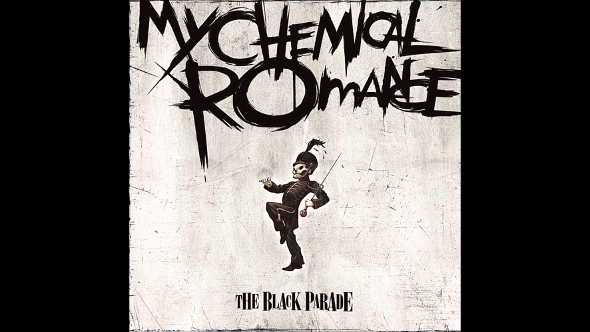 Welcome to the Black Parade – My Chemical Romance (Droped down to F)