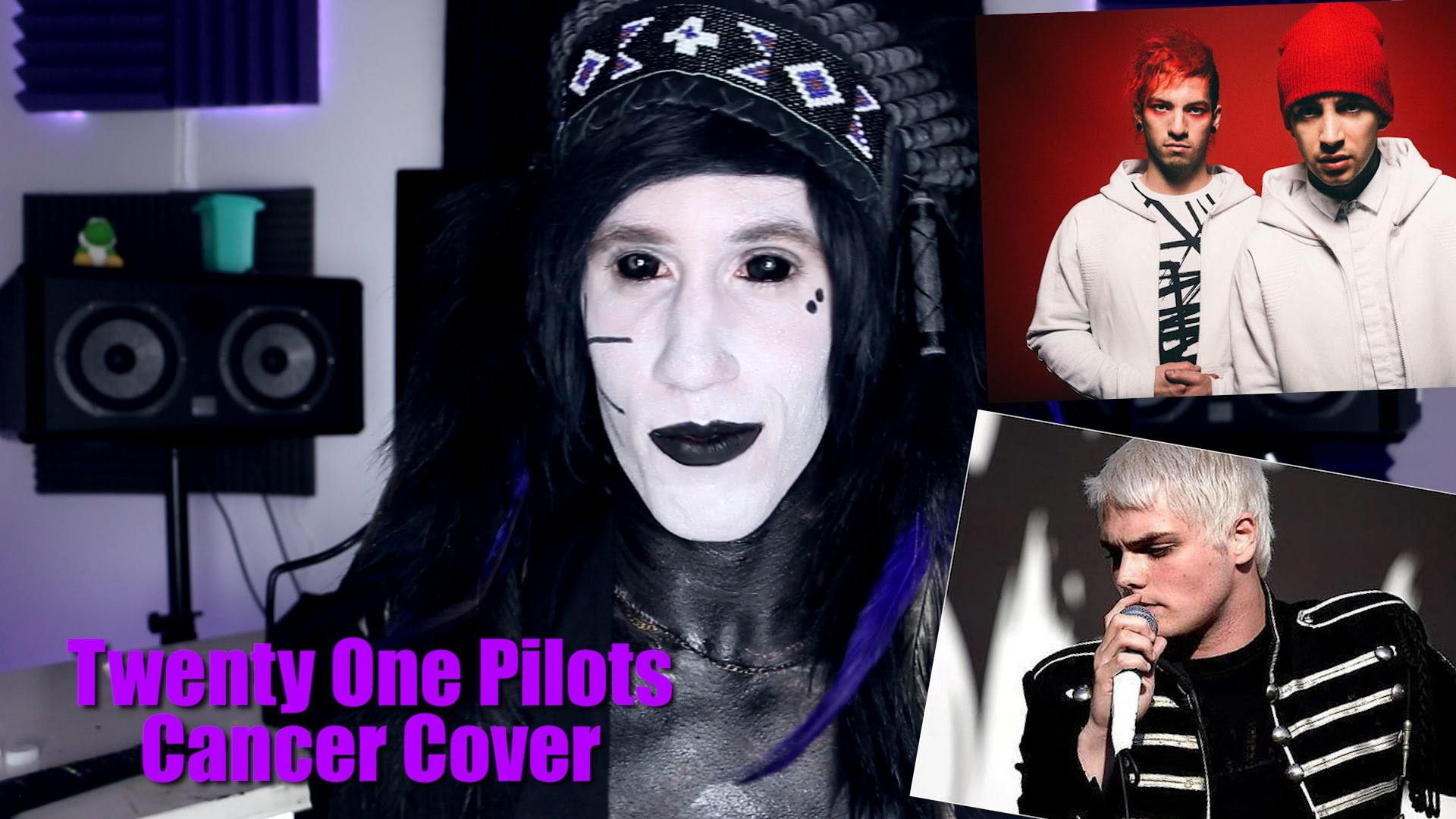 "Goth Reacts to My Chemical Romance ""Cancer"" cover by Twenty One Pilots –  YouTube"