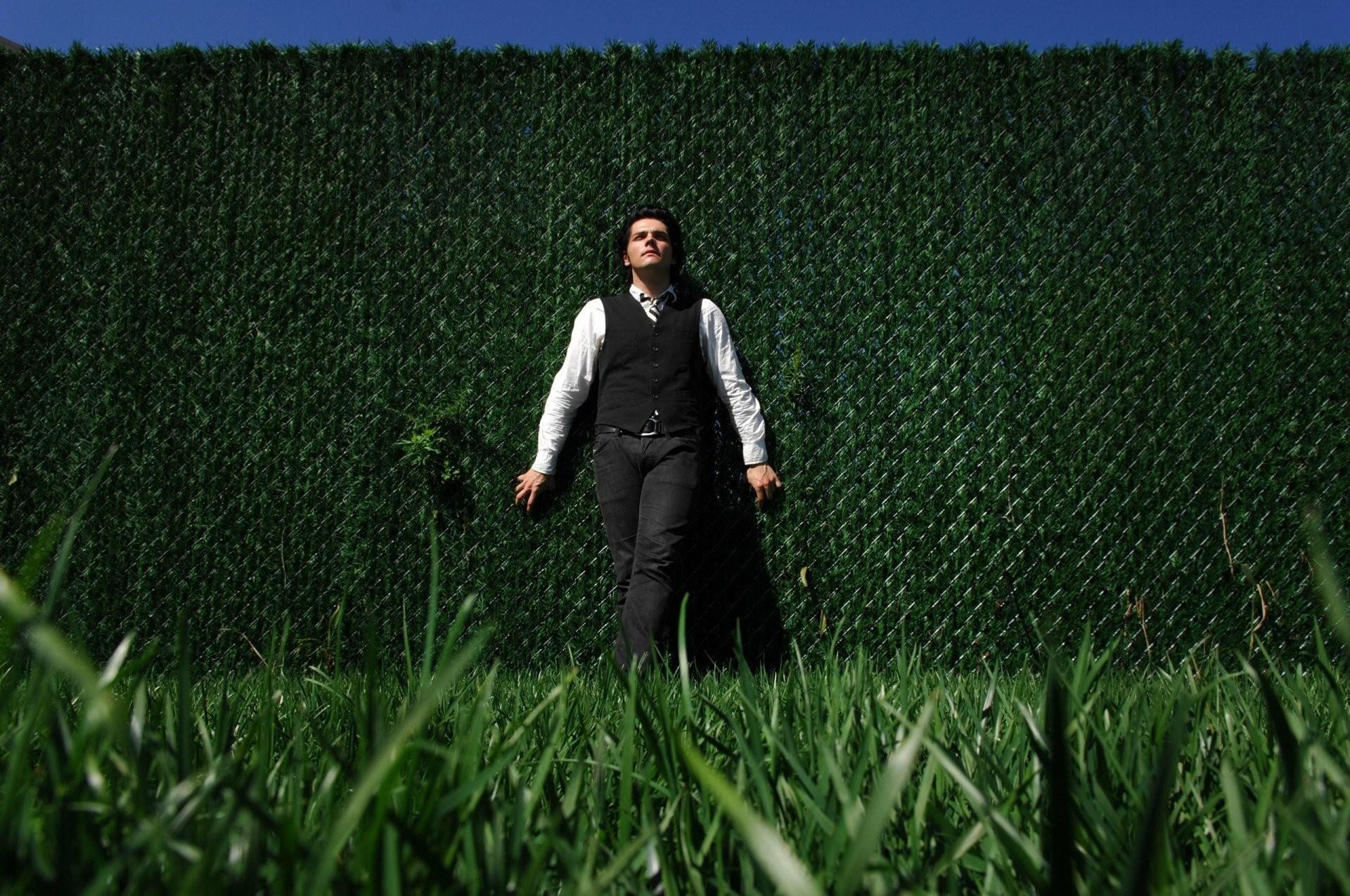 my chemical romance gerard way gerard way grass green wall