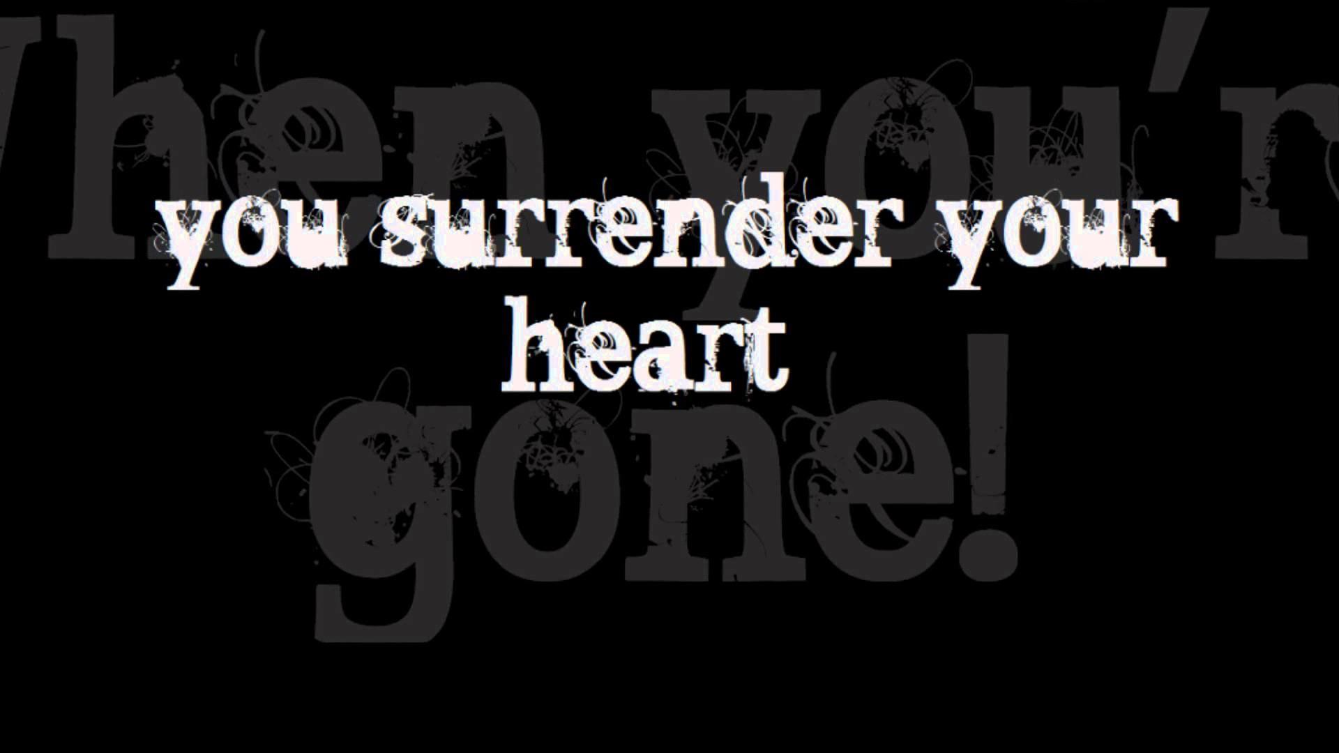 Surrender The Night Lyrics -My Chemical Romance