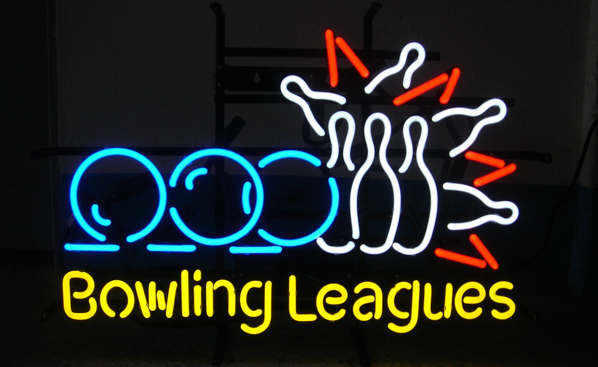 Photography – Neon Neon Sign Sign Photography Bowling Wallpaper