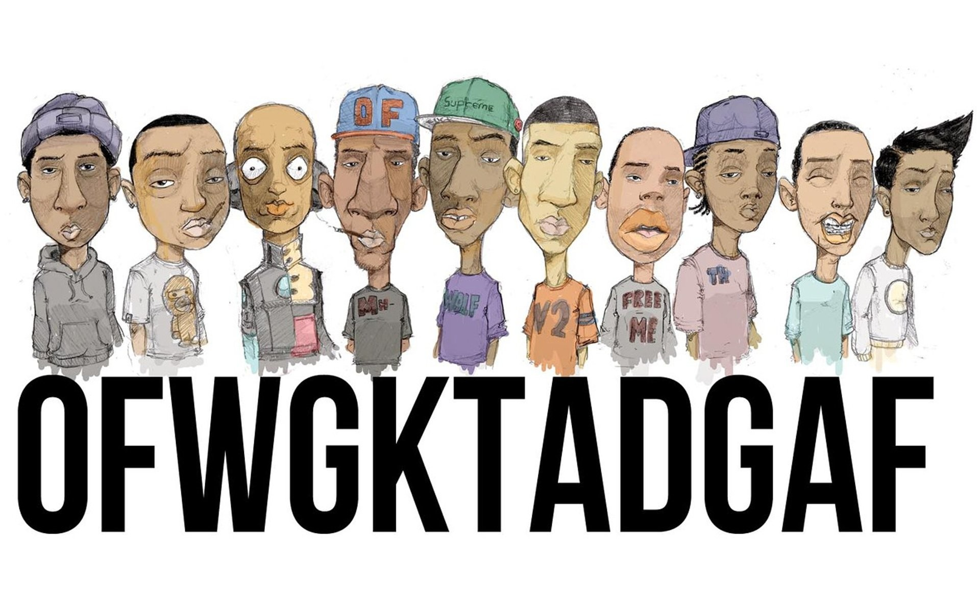 HD Wallpaper | Background ID:278672. Music Odd Future