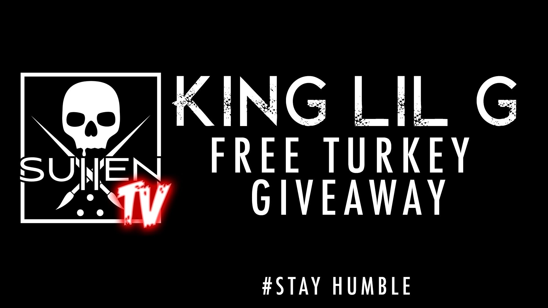 King Lil G, Tito from the Pricks and Sullen Clothing Free Turkey Giveaway –  YouTube