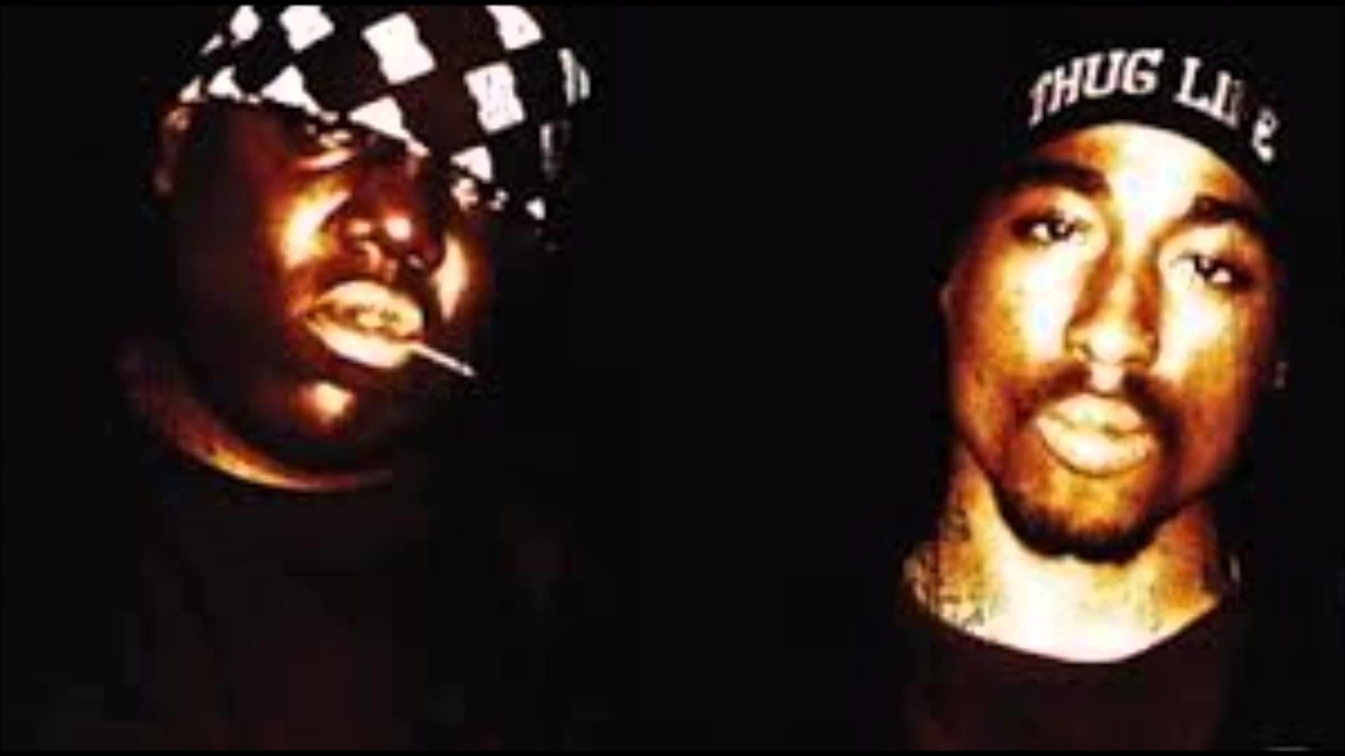 Biggie Smalls And Tupac Wallpaper Image gallery for : biggie tupac .