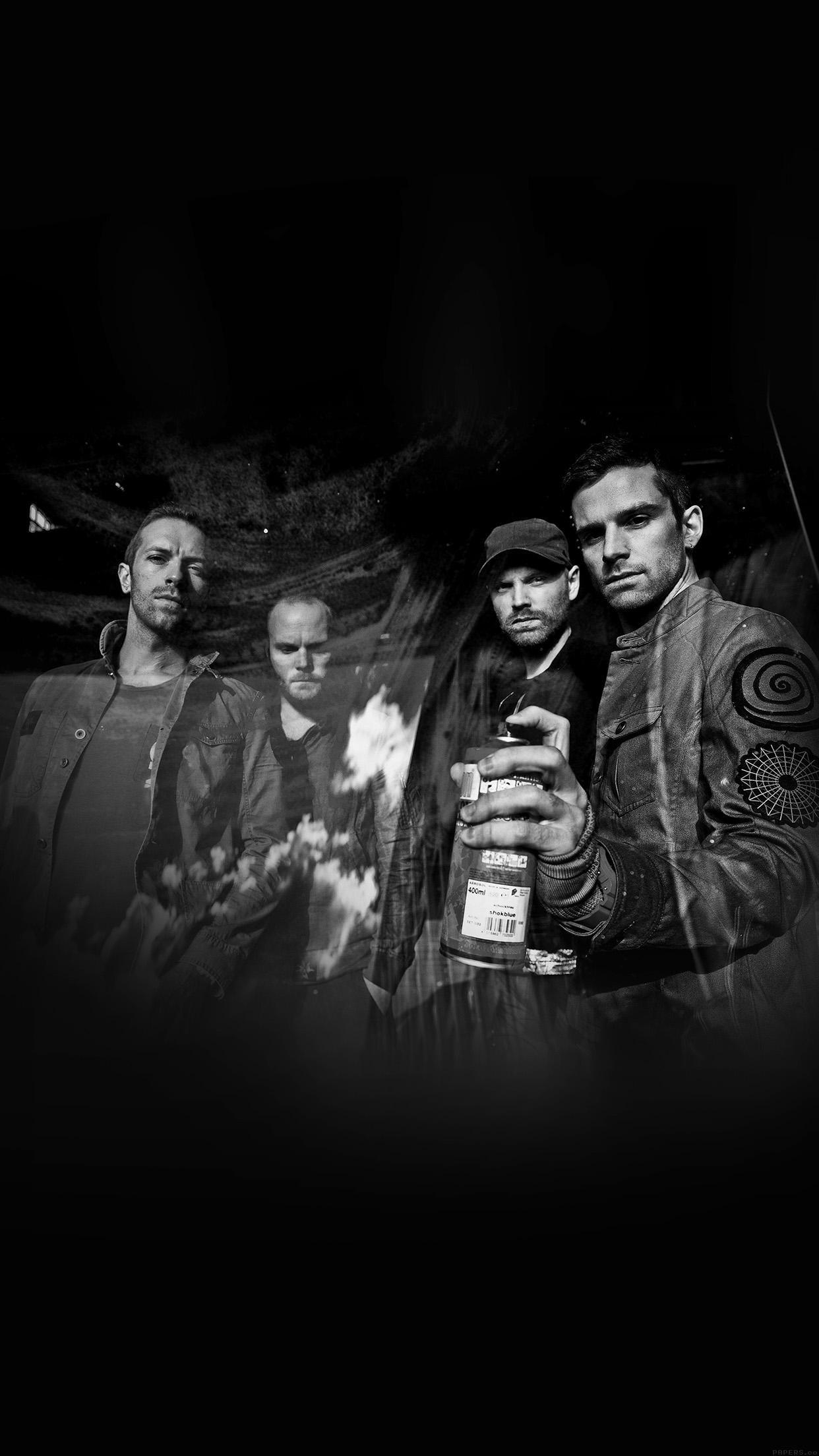 Coldplay Music Dark Band Celebrity