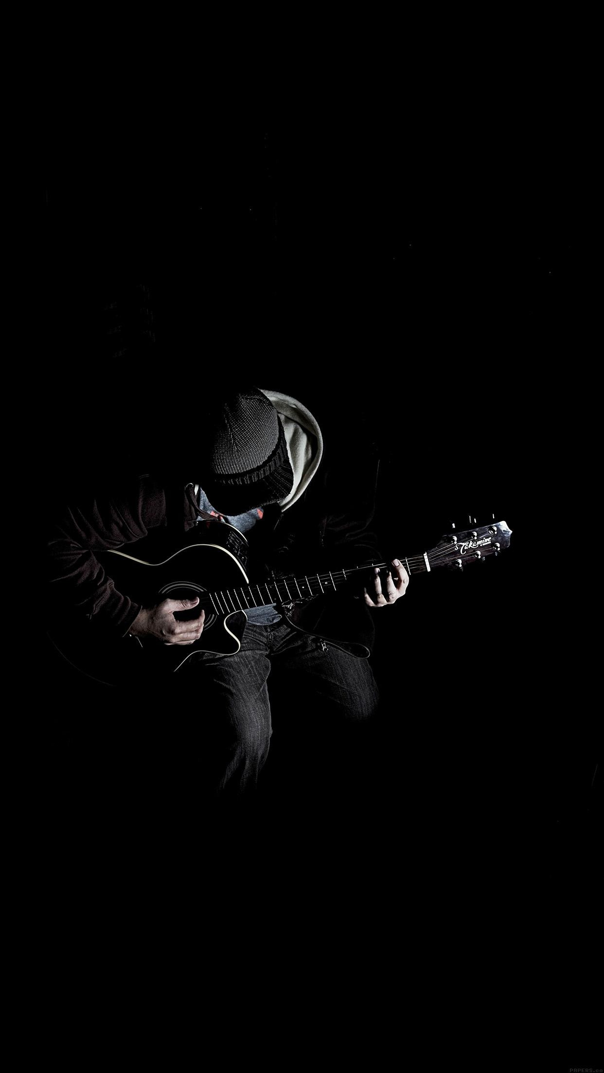 Out The Dark Guitar Player Music
