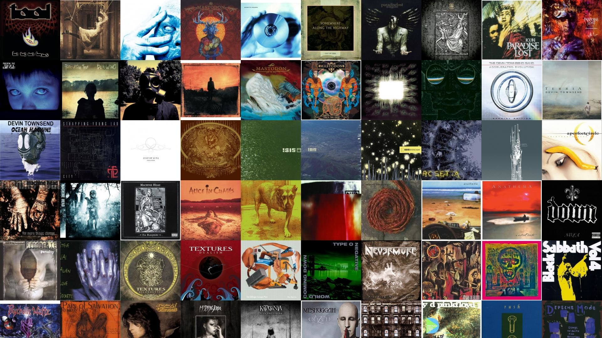 Tool Lateralus Porcupine Tree Signify In Absentia Mastodon Wallpaper