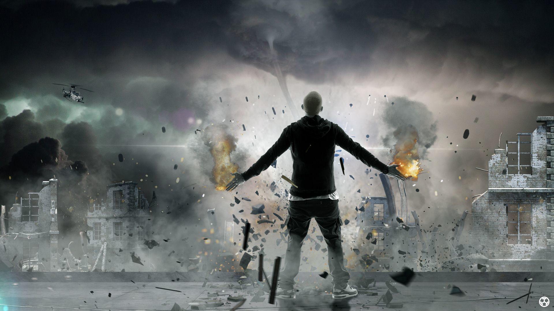 Eminem Rap God wallpapers full hd