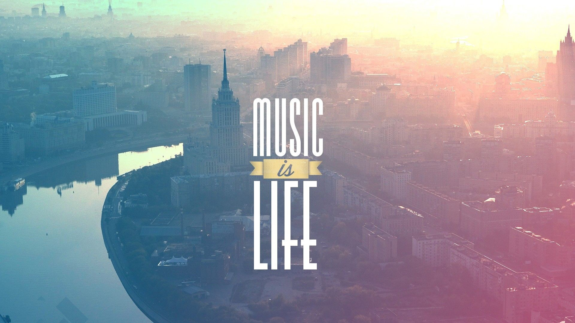 Music is Life Music is Life HD Wallpaper