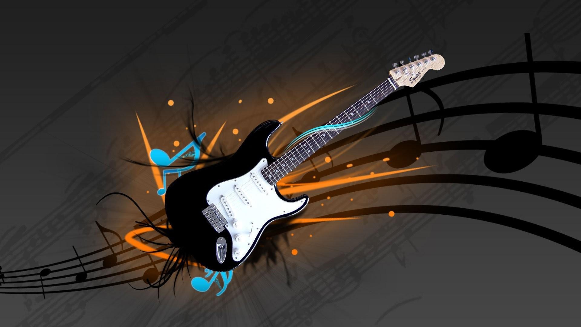 Muziek – Gitaar Wallpaper