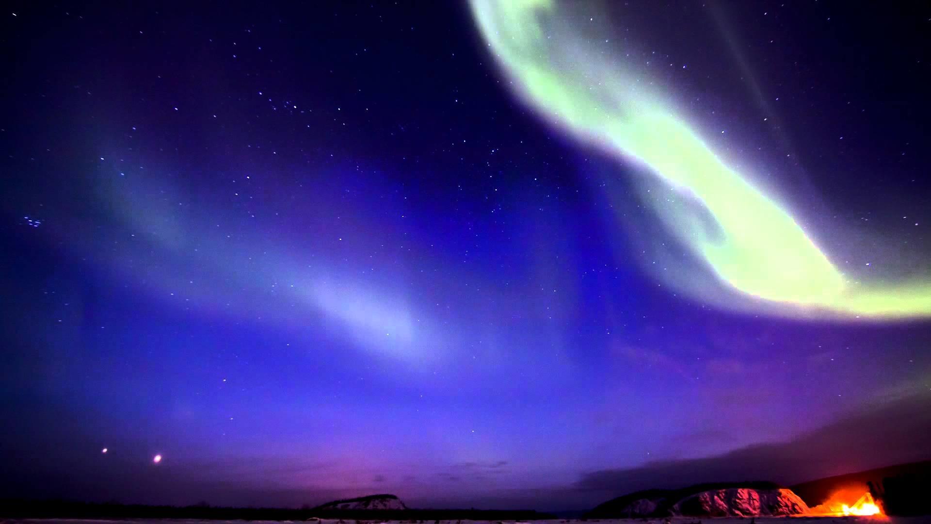 Aurora in HD – Breathtaking Northern Lights – Alaska – music by Iona –  YouTube