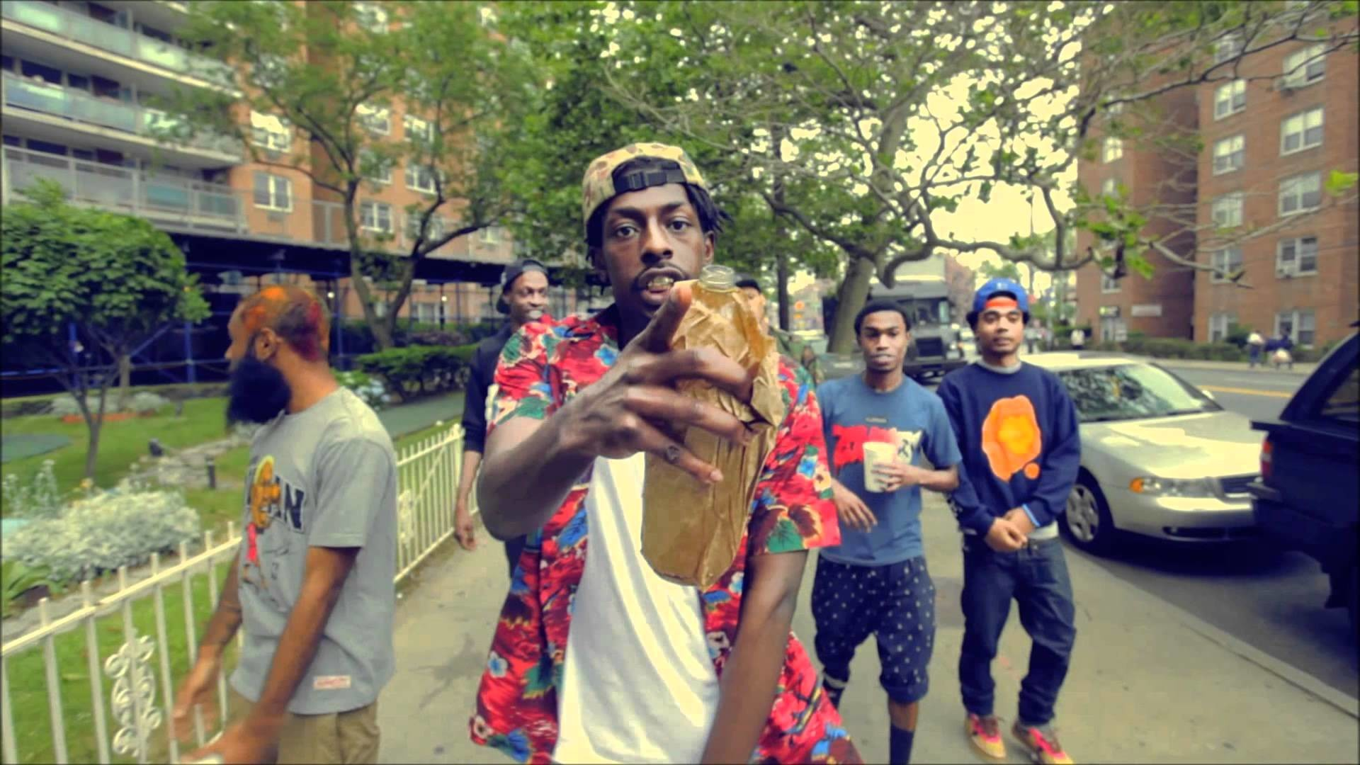 Here's a very exciting collaboration between some childhood friends from  Brooklyn as Flatbush ZOMBiES release a new track featuring Joey Bada$$ and  Issa …