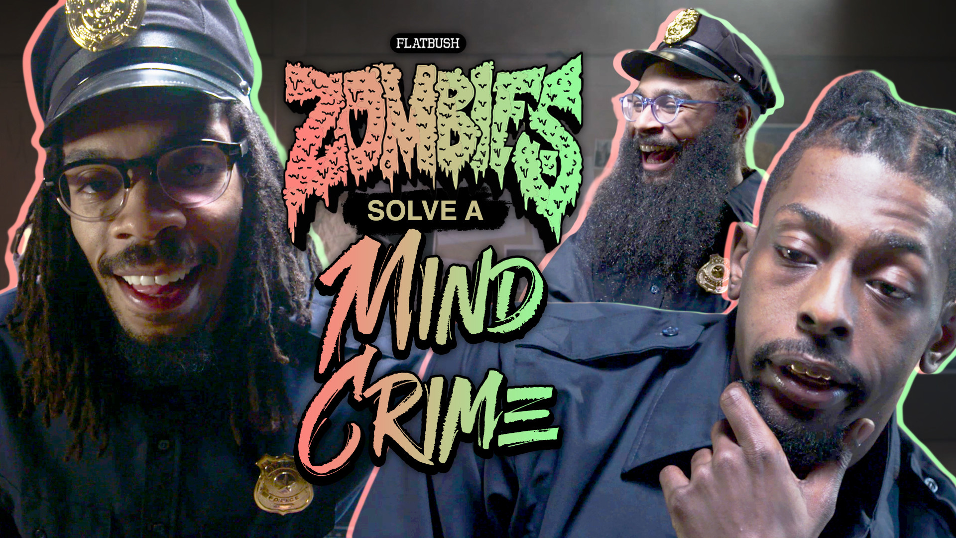 Watch Flatbush Zombies Solve A Mind Crime In A Surreal Comedy Sketch –  Stereogum