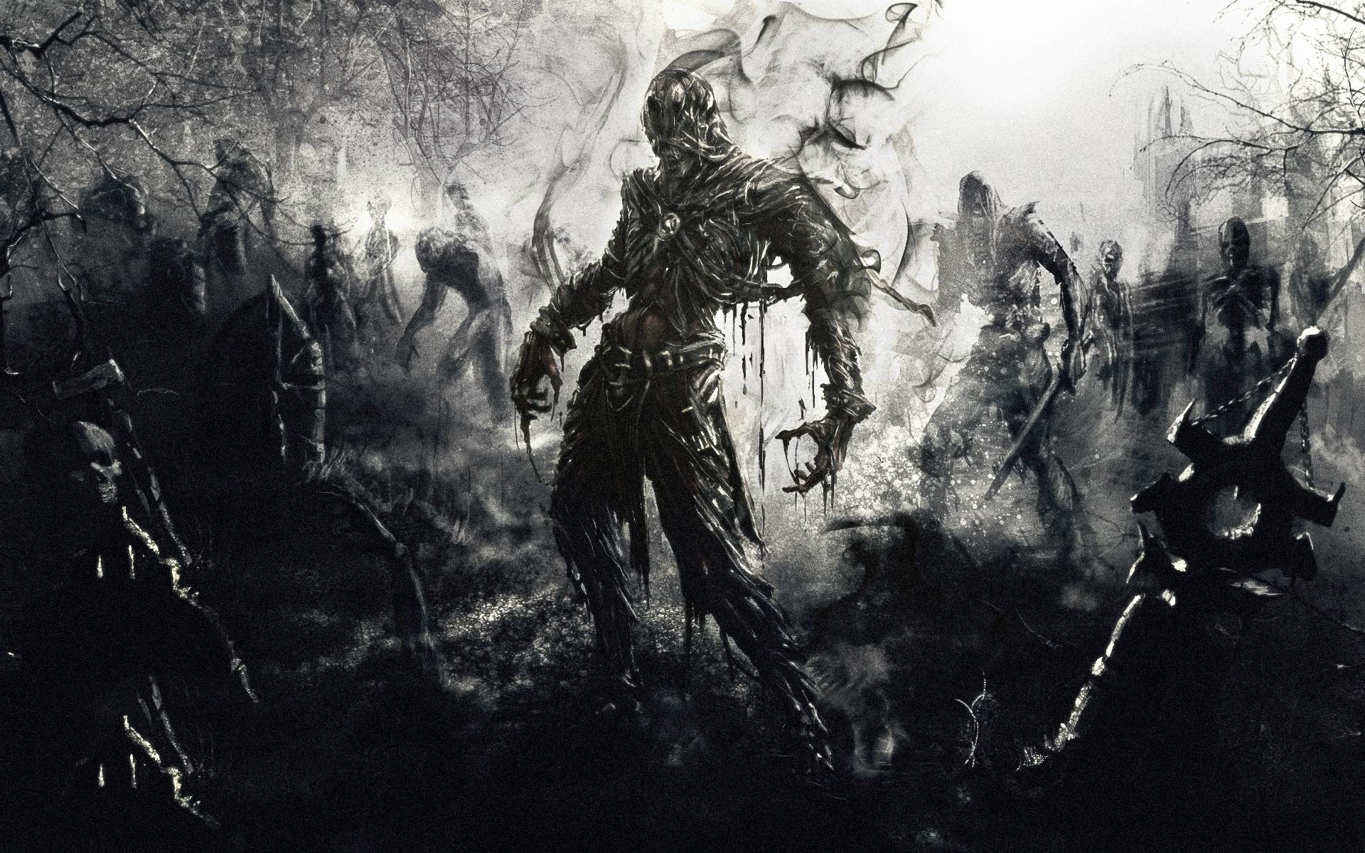 Cool Zombie Wallpapers (44 Wallpapers)