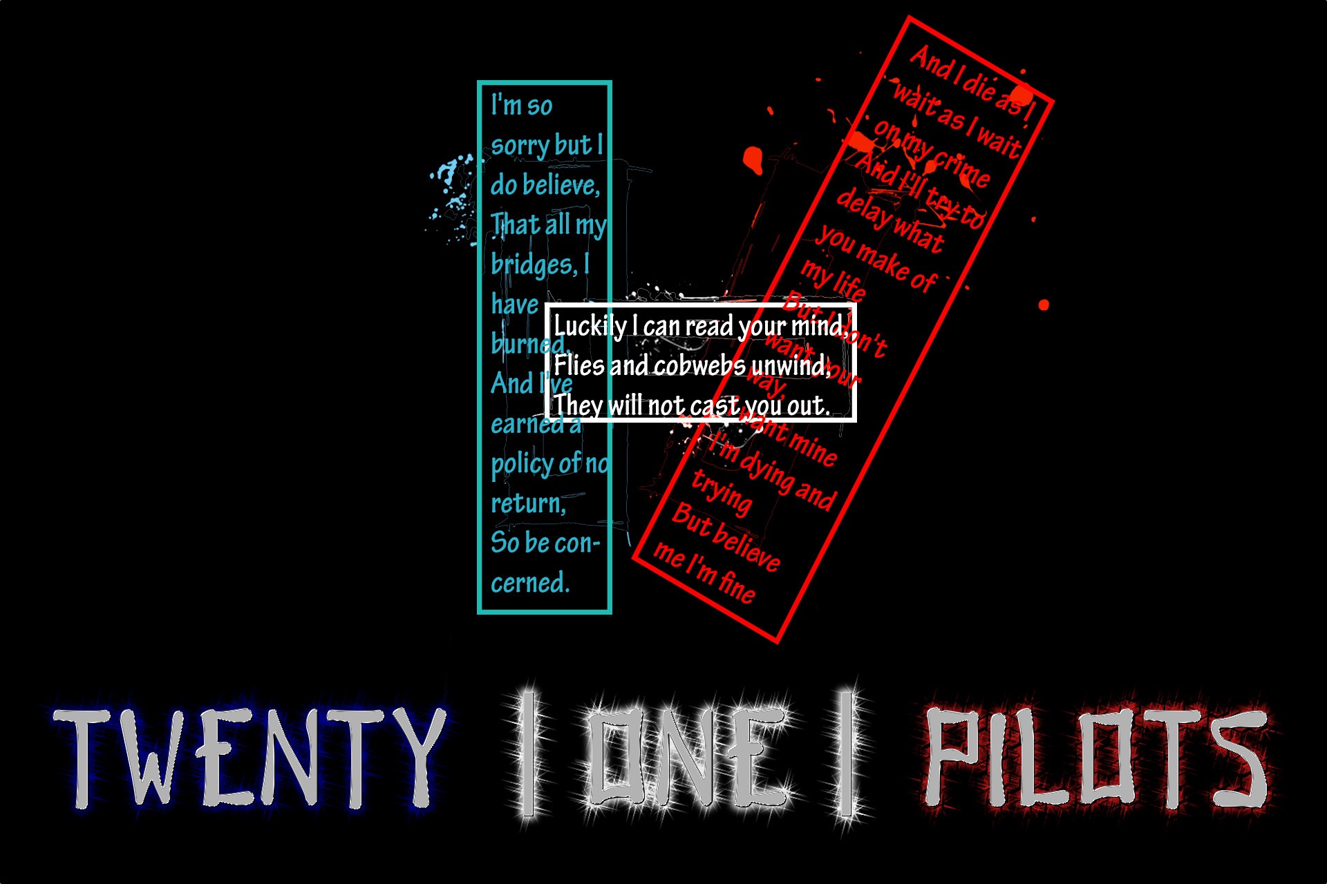 Twenty One Pilots Lyrics Wallpaper – WallpaperSafari