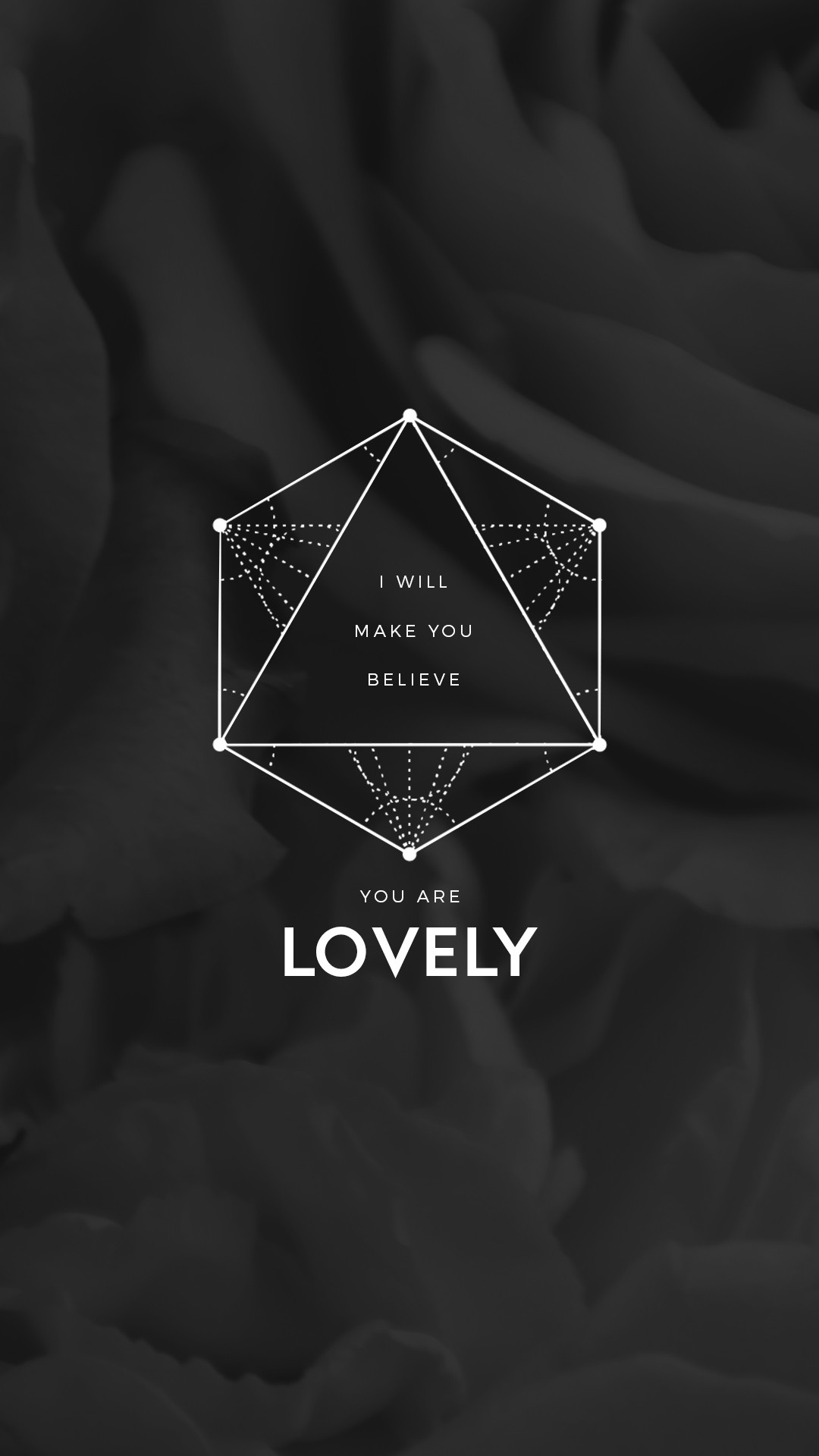 """Lovely"" lyrics Twenty One Pilots lockscreen"
