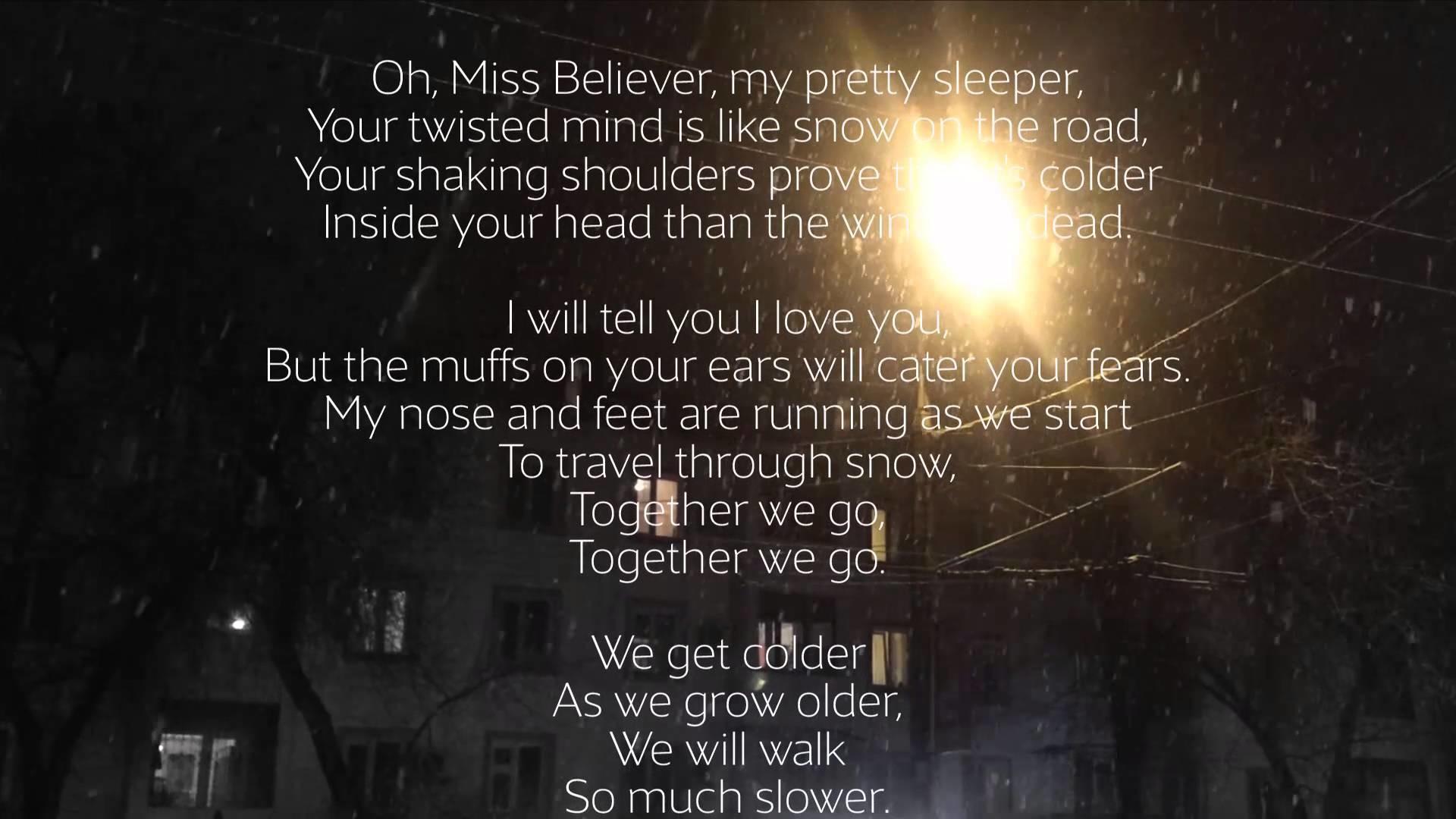 Twenty One Pilots – Oh, Ms. Believer (Lyrics)