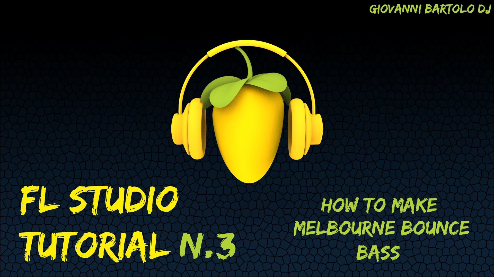 How to make simple Melbourne Bounce BASS || FL Studio Tutorial n.3