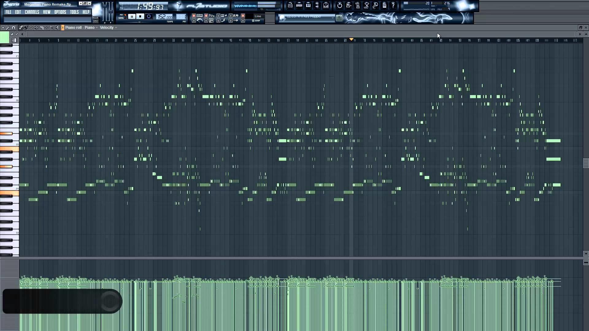 Mega Man 2 – Dr. Wily Stage 1 | Remake | [FL Studio 10]