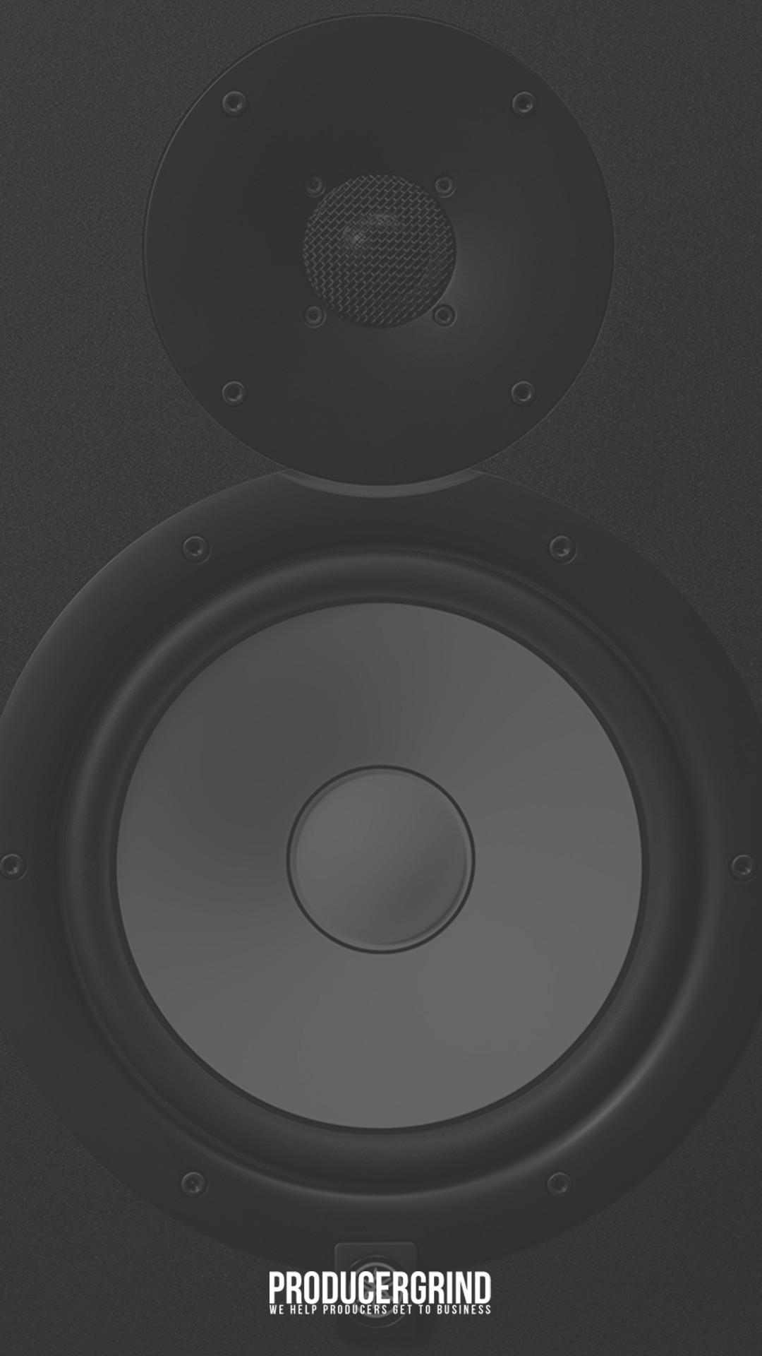 Yamaha hs8 wallpaper for iPhone HD