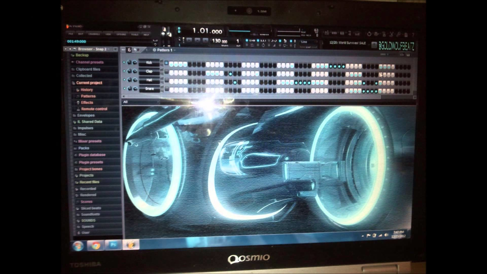 tron skin fl studio skin CUSTOM STAND OUT FROM THE CROWD READ DESCRIPTION –  YouTube