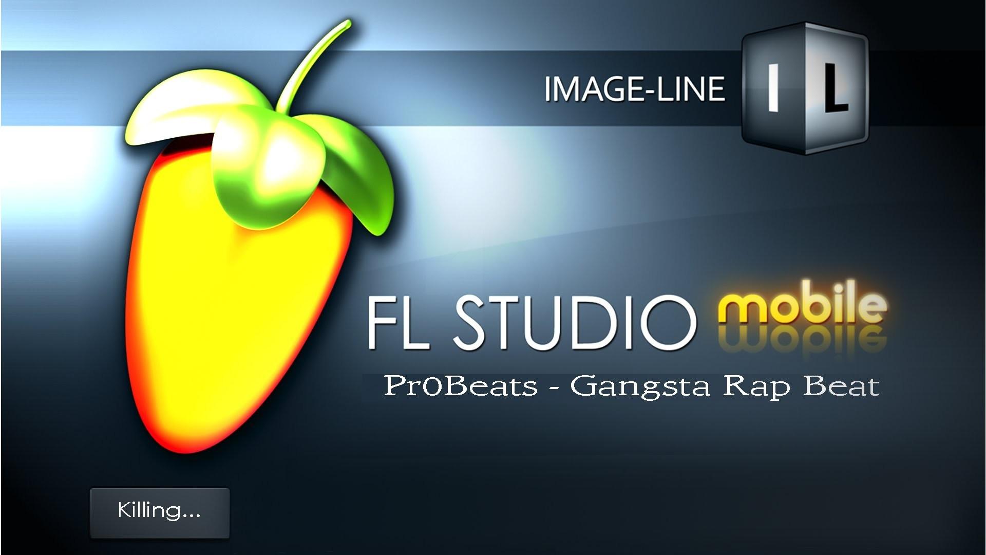 Gangsta Rap Beat (FL STUDIO mobile *Test*)(HD)