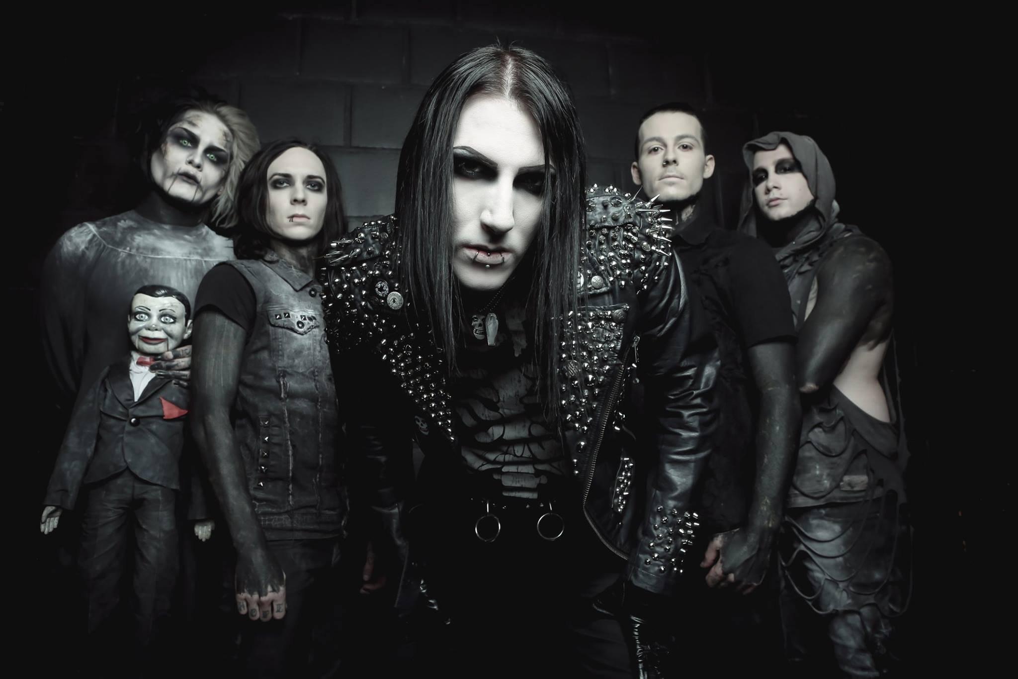 MOTIONLESS In WHITE metalcore heavy metal hard rock 1miw industrial .