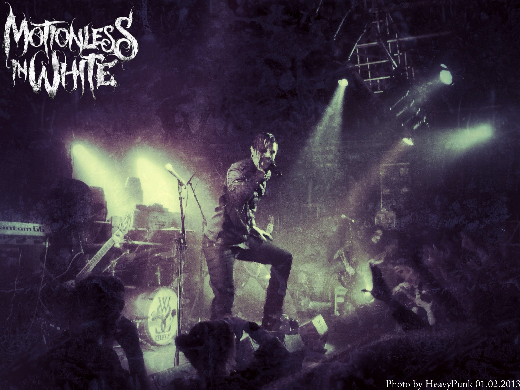 Motionless in White [live in concert] by MaxiMotionless on DeviantArt