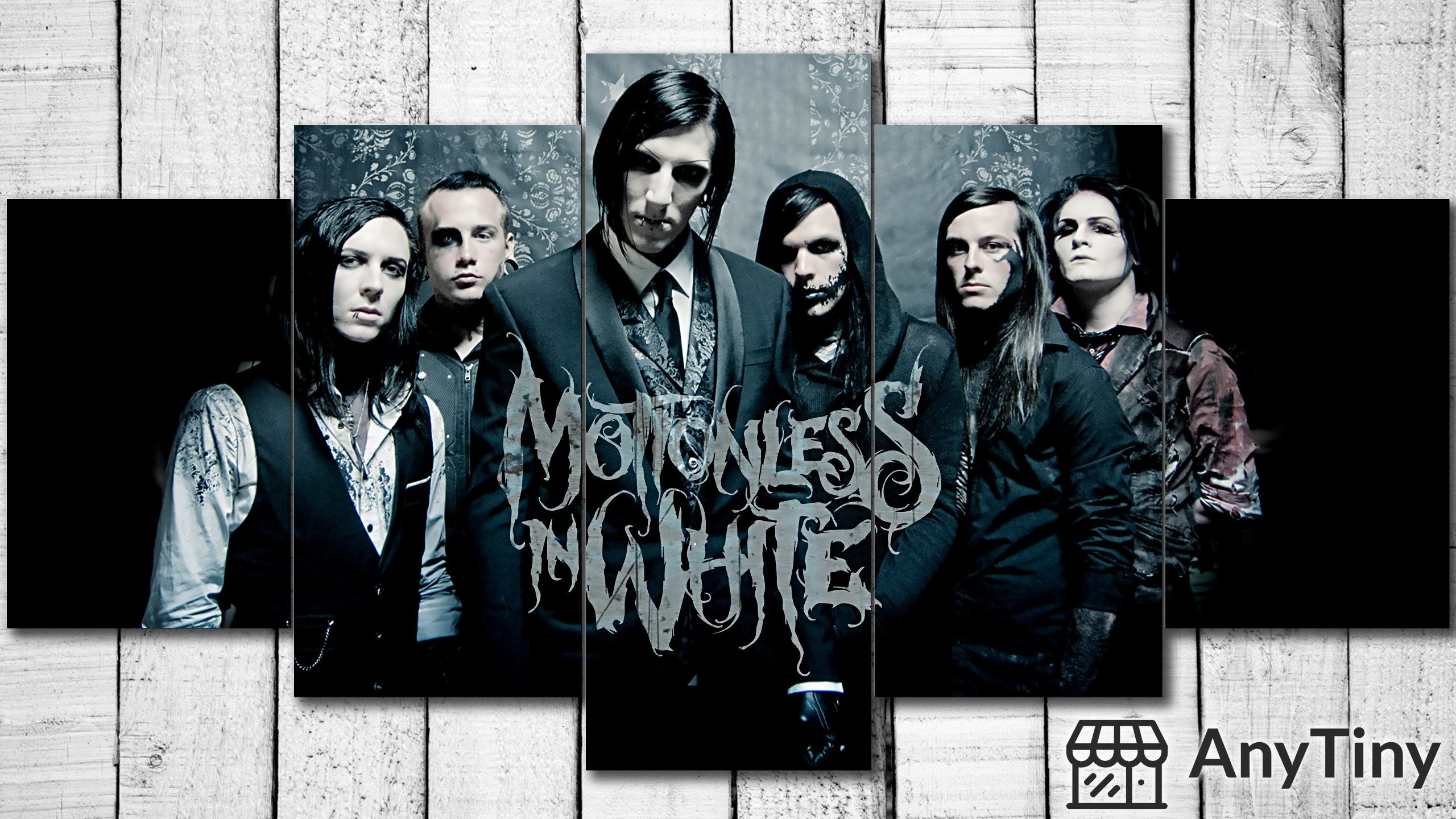 Canvas Wall Art – Motionless In White