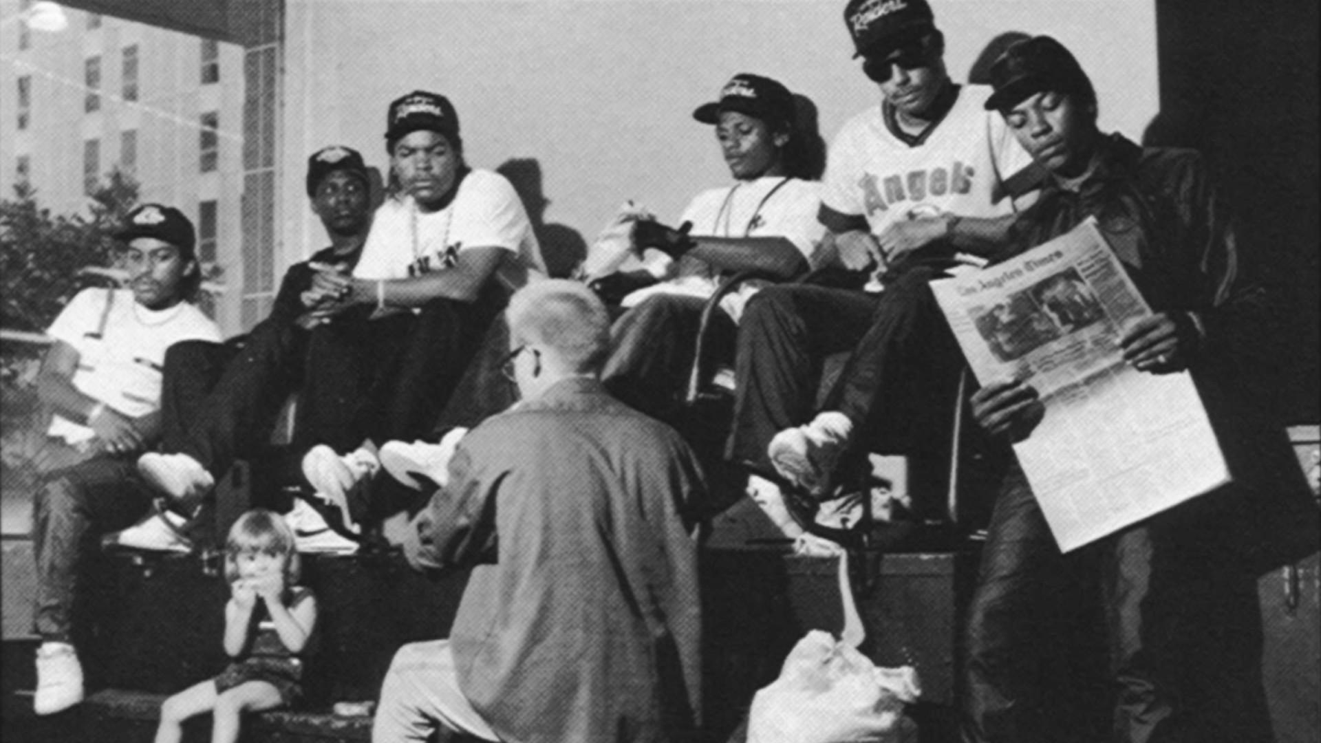 NWA: Eazy-E, Mc REN, Dr DRE, Ice CUbe   Old