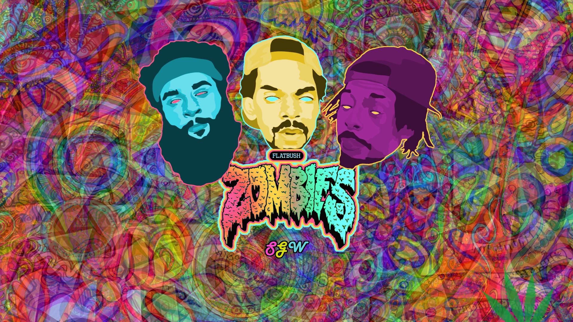 Flatbush Zombies Wallpaper Flatbush zombies psychedelic