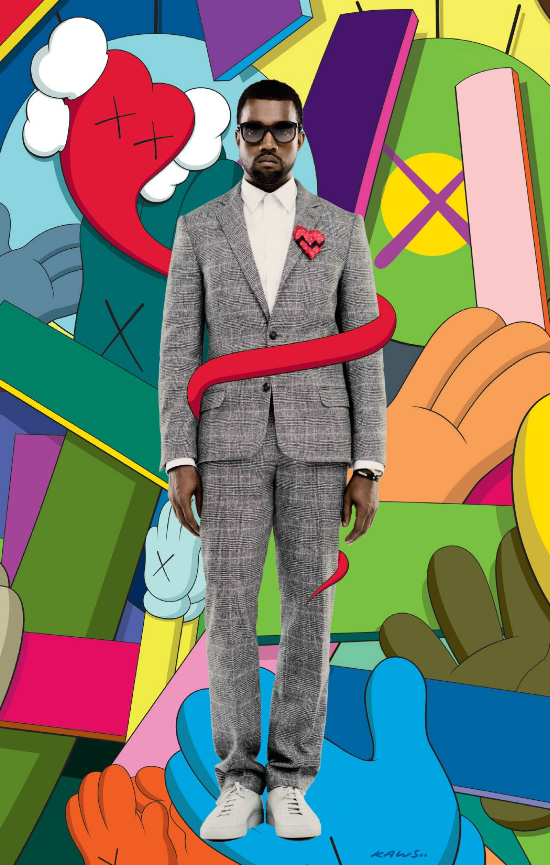 [iPHONE 6+ (also fits well for 6)][KANYE WEST] 808s & Heartbreak