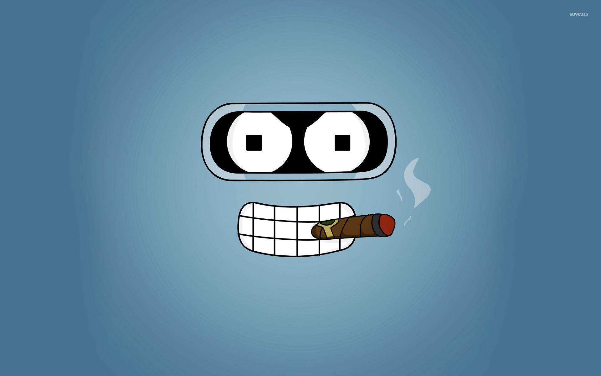 Smoking Bender wallpaper